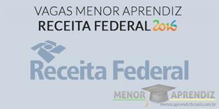 vagas menor aprendiz receita federal 2016