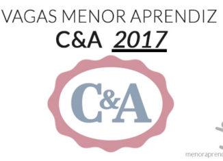 vagas menor aprendiz C&A 2017