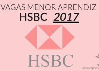 vagas menor aprendiz hsbc 2017