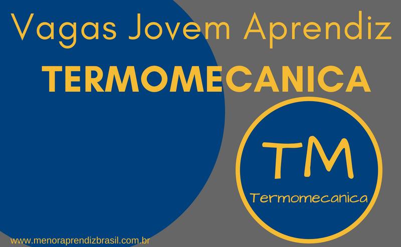Termomecanica – Vagas de Jovem Aprendiz
