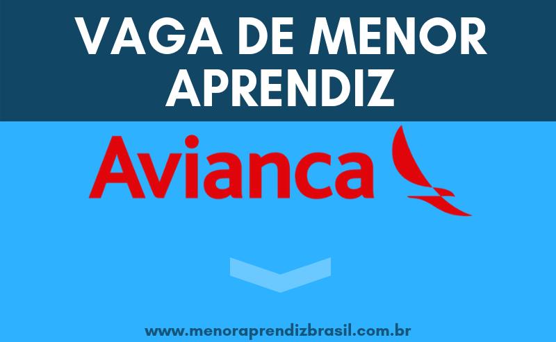 Menor Aprendiz Avianca Brasil