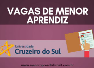 Menor Aprendiz Cruzeiro do Sul