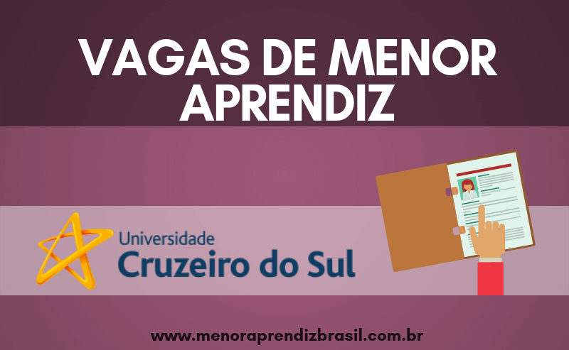 Menor Aprendiz Cruzeiro do Sul