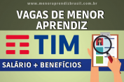 Menor Aprendiz TIM