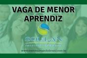 Menor Aprendiz Soulan