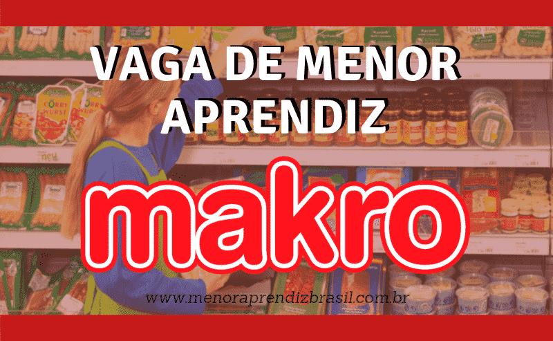 Menor Aprendiz Makro