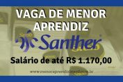 Menor Aprendiz Santher