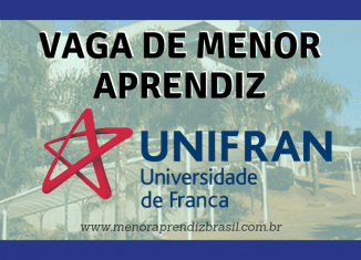 Menor Aprendiz Unifran