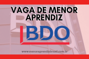 Menor Aprendiz BDO Brasil
