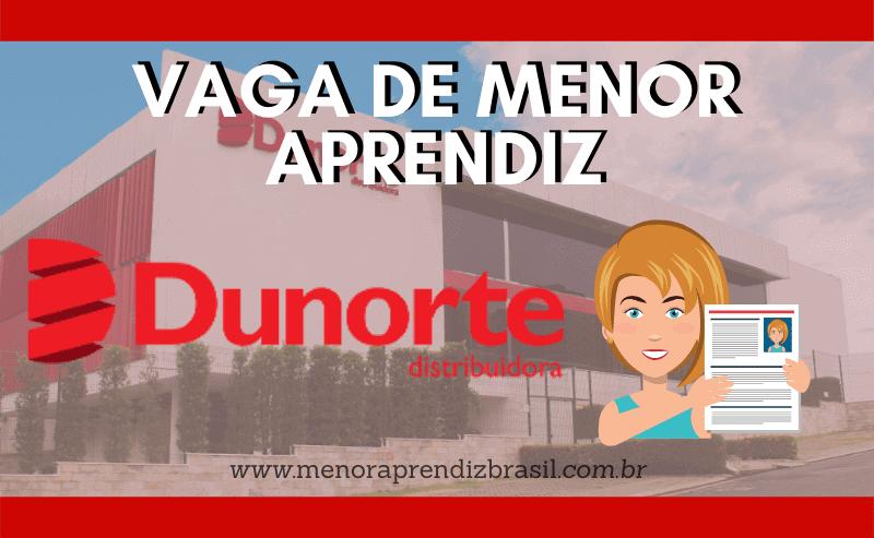 Menor Aprendiz Dunorte