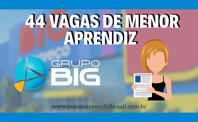 Menor Aprendiz Grupo Big